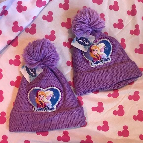 Disney Other - Best Friends! Sisters Bundle DISNEY Frozen Beanies